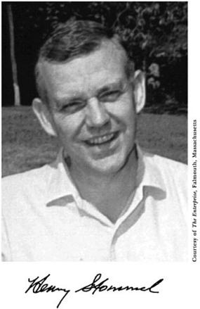 Portrait of Henry Stommel