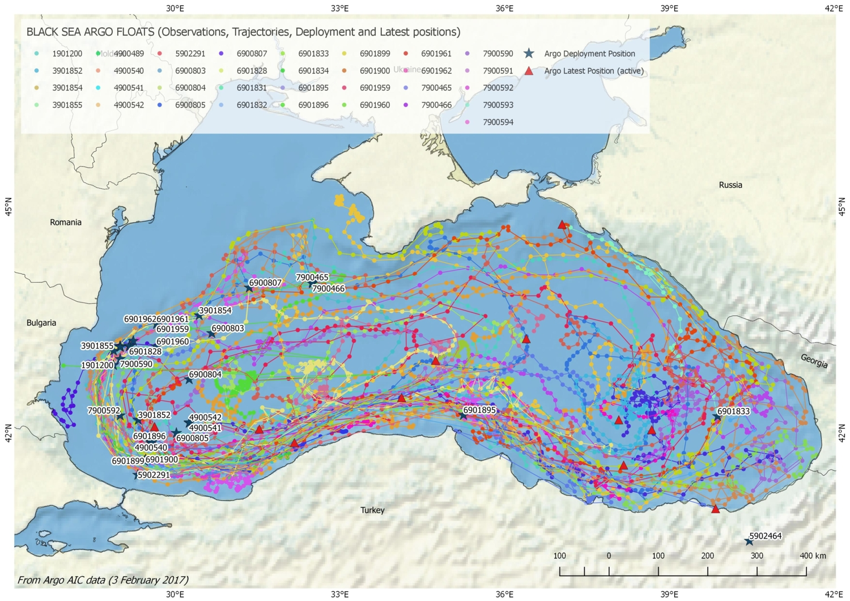 Argo activities in the black sea euro argo ri the black sea gumiabroncs Choice Image